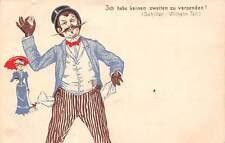 Ich kabe keinen zweiten zu versenden! (Schiller: Wilhelm Tell.) Fancy, Mustache
