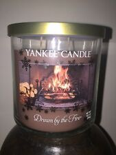 12.5 OZ YANKEE CANDLE WINTER WONDERLAND DREAM BY THE FIRE MEDIUM TUMBLER 2 WICK