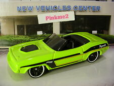 htf 2017 Multi Pack Exclusive PLYMOUTH BARRACUDA✿sublime-Green∞LOOSE∞Hot wheels