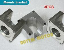 3Sets Nema23 Stepper Motor Mount Aluminum Clamp Bracket Plasma Cutter+12x Screw