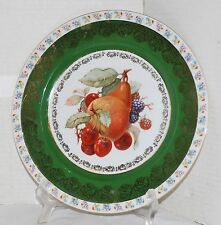 "Cico Bavaria Germany Fruit 10"" Plate"