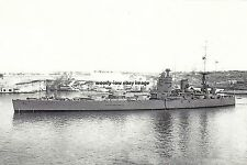 rp16757 - Royal Navy Warship - HMS Nelson , built 1927 - photo 6x4