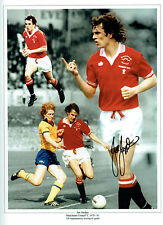 Joe JORDAN Signed Autograph 16x12 Manchester United Montage Photo AFTAL COA