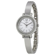 Fossil Silver Dial Stainless Steel Ladies Watch BQ1200
