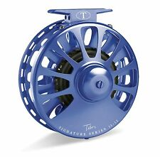 Tibor Signature Fly Reel, Size 5/6, Royal Blue, NEW!  FREE FLY LINE!