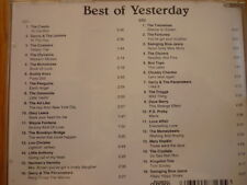 Best of Yesterday / CRESTS COASTERS BUDDY KNOX MONOTONES TROGGS P.S. PROBY 2CD