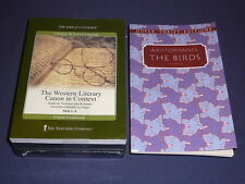 Teaching Co Great Courses  DVDs      WESTERN LITERARY CANON CONTEXT  new + BONUS