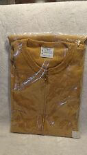 Vintage JC Penny Towncraft  Zip Down Shiort Sleeve Polo Shirt Med 38-40 New