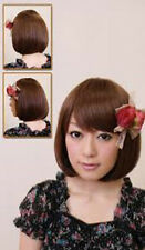 Bodyline Lolita Medium Brown Bob Wig W058
