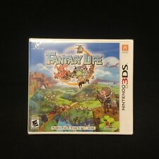 Fantasy Life (3DS) Brand New / Factory Sealed / US Version
