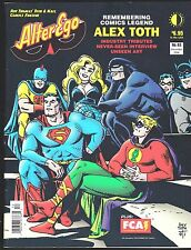 ALTER EGO # 63 COMICS FANZINE MAGAZINE ALEX TOTH TRIBUTE ISSUE RUSS MANNING TOO