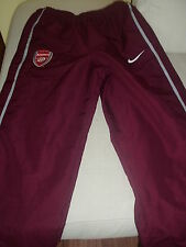 PANTALONI ALLENAMENTO ARSENAL F.C. THE GUNNERS ORIGINALI NIKE PREMIER LEAGUE