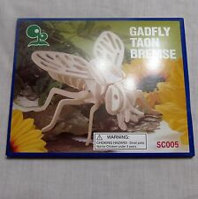 Gadfly Taon Bremse Bug Harbor Freight Tools Wooden Model Kit SC005
