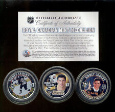 Set of 3 2005-06 SIDNEY CROSBY Royal Canadian Mint Medallions NHL Rookie Coins