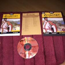 Emperor Rise of the Middle Kingdom  PC CD ROM complete with manual