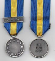 *** NEW *** EU-ESDP MEDAL WITH CLASP: EUTM MALI