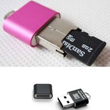 New High Speed Mini USB 2.0 Micro SD TF T-Flash Memory Card Reader Adapter 1PC