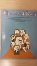 The Joy Of Bach: Ed. Denes Agay: Music Score (E5)