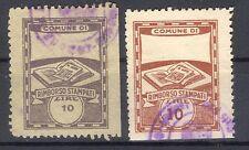 Italy local revenues marca da bollo timbres fiscaux