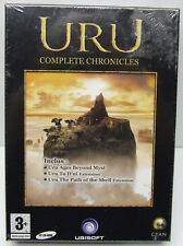 URU COMPLETE CHRONICLES PC CD JEU+ MANUEL EN FRANCAIS FACTORY SEALED RETAIL BOX