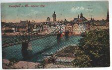 Frankfurt Eiserner Steg, von Frankfurt nach Winkel bei Allstedt vom 27.10.1919