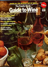 1973 Family CIRCLE Guide to WINE Excellent CONDITION Fun VINTAGE Ads RETRO!