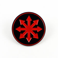 Chaos Star - 1 1/4 Enamel Pin Symbol of Chaos Punk Rock Heavy Metal Moorcock