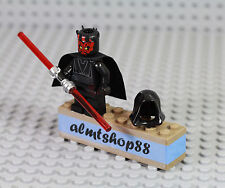 LEGO Star Wars - Darth Maul Sith Lord Minifigure Dual Lightsaber 7961 7101 7151