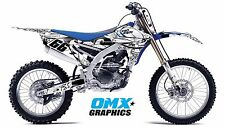 YAMAHA YZF 250 450 4-stroke decals stickers graphics kit  2014 2015 2016 SAVAGE