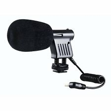 S3 BY-VM01 Directional Video Condenser Microphone for Canon Nikon DSLR Camcord