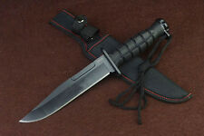 NEW  Sharp military assault jungle camping rescue survival hunting bowie knife