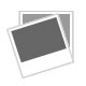 "11"" Classic Backgammon Set Brown White Faux Leather Portable Travel Folding Case"