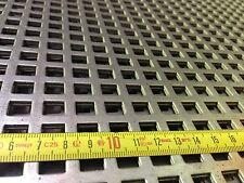 Stahl Verzinkt Lochblech (Qg 10-15) 1000 x 500 x 1,5mm  Neuware TOP Wa