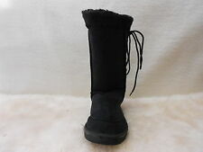 Ugg Boots Tall, Synthetic Wool, Lace Up, Size 10 Men's Colour Black