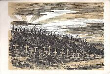 AK Der Grenadier Friedhof in der Libertschlucht - F. Eisele - 1916 - siehe Bild