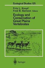 ECOLOGY AND CONSERVATION OF GREA - FRED B. SAMSON FRITZ L. KNOPF (PAPERBACK) NEW