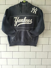 MLB Majestic Athletic Deportes Baloncesto New York Yankees Gris Sudadera Con Capucha