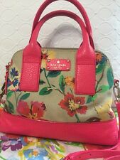 Kate Spade Hot Pink Floral Summer Flowers Grove Court Maise GUC $348