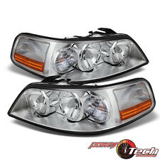 05-11 Lincoln Town Car OE Spec Headlights Headlamps Pair Set New Bulbs Included