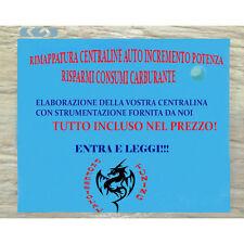 RIMAPPATURA CENTRALINA + ELIMINAZIONE EGR FIAT BRAVO 1.9 JTDM-ECU TUNING OBD2
