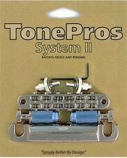 Tone Pros Nashville style Bridge/Tailpiece Set LPNM04-NKL NIckel Finish