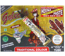 HENNE NERO 1 TUBO TATTOO TATUAGGI HENNA NEGRA BLACK TATOO 100% NATURALE