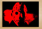 Jason Voorhees A0 A1 A2 A3 Framed Canvas Vorhees Friday the 13th