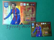 Fifa 2016 2017 UPDATE Limited Edition XXL Messi Barcelona 365 Panini Adrenalyn