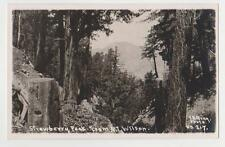 RPPC,Strawberry Peak,CA.View from Mt.Wilson,San Gabriel Mts.E.B.Gray Photo,c.'09