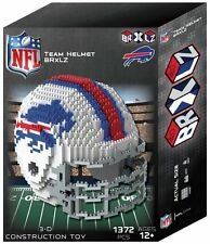 Buffalo Bills BRXLZ Team Helmet 3-D Puzzle Construction Toy New - 1372 Pieces
