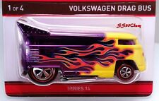 2016 Hot Wheels RLC Red Line Club Neo-Classics Volkswagen VW Drag Bus Sold Out