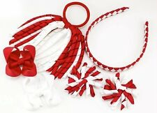 St George's Day School Hair Bow Clips Alice band Korker Bobble PonyTail Holder