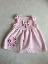 Baby Girls Clothes Newborn - Lovely Velour Dress   - We Combine Postage