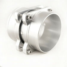 GM BILLET ALUMINUM LS1 LS6 LT4 LT1 MASS AIR HIGH FLOW PORTED MAF ENDS SILVER